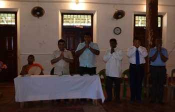"A photo exhibition on ""INDIA THROUGH SRI LANKAN EYES"" and ""YOGA"