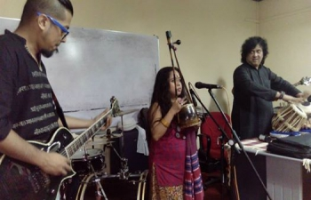 Bandish Fusion workshop on 12th Aug. 2015 (photos along with write-up)