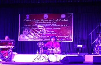 Bandish Fusion musical concert on 13th Aug. 2015