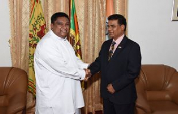 A Courtesy Call on Hon'ble CM of Uva Province.