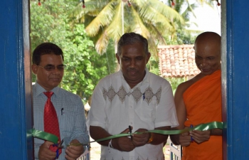 "Consulate General of India, Hambantota organized a photo exhibition ""India Through Sri Lankan Eyes"" at Henakaduwa Raja Maha Viharaya, Tangalle to coincide with Vesak full moon poya day on May 21, 2016"