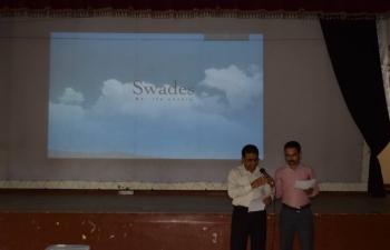 Consulate General of India Hambantota screened Swades Hindi Film (30 june 2016)
