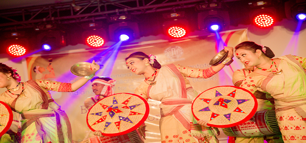 Bihu Folk Dance & Music Event Organized by Consulate General of India, Hambantota on 24th January 2018