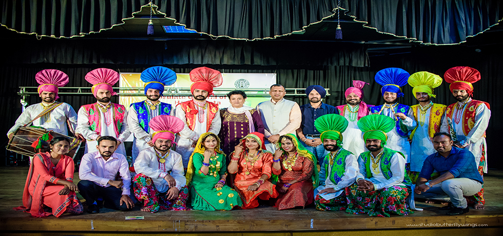 Punjabi Folk Dance and Music Event held at Hall De Galle, Galle on 19th November 2017
