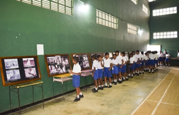 Mahatma Gandhi Photo Exhibition at Vidyaloka College, Galle