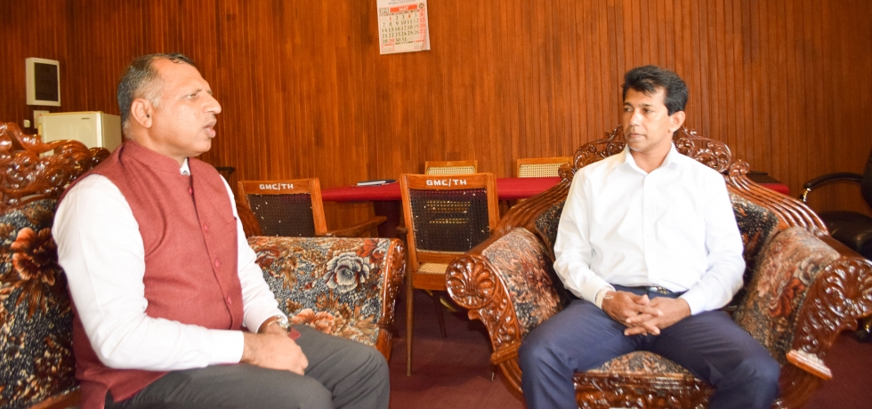 Consul General's meeting with Mr. Priyantha Sahabandu, Honorable  Mayor of Galle city