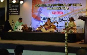 Carnatic Veena Recital @ Pitabaddara