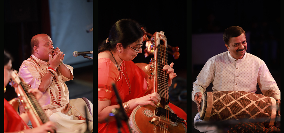 Carnatic Veena Recital @ Hall De Galle, Galle on 22nd January 2020