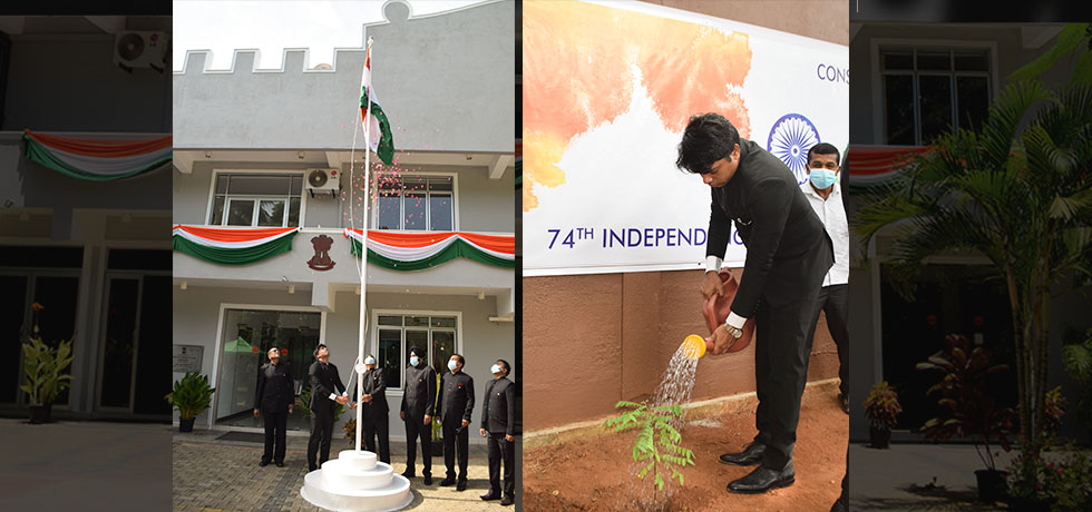 74th Independence Day celebration at the Chancery 2020