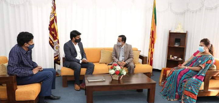 Consul General  called on Hon. Governor of Central Province, His Excellency Mr. Lalith U Gamage at the Central Provincial Governor's office