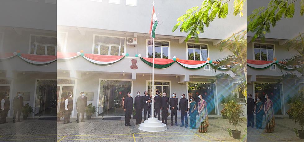 72nd Republic Day of India celebrations in Southern Province, Sri Lanka