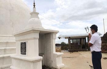 Consul General's Visit to the Sithulpawwa Raja Maha Viharaya