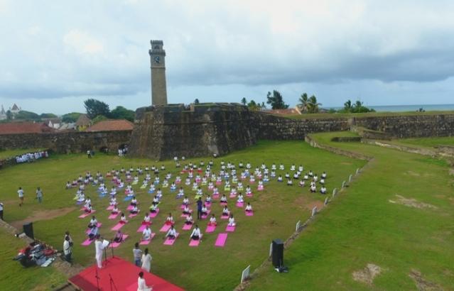 4th International Day of Yoga Celebration