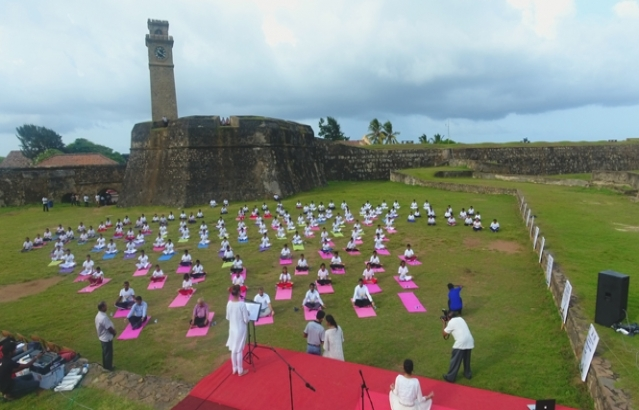 4th International Day of Yoga Celebration