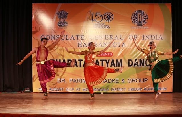 Bharatanatyam Dance Performance @ Monaragala