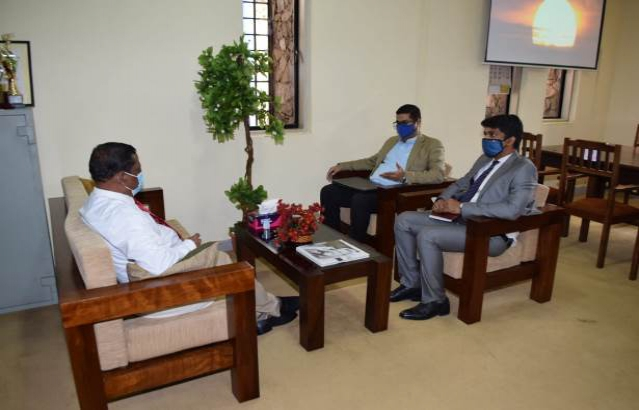Deputy High Commissioner Meeting the Chief Secretary of Southern Province